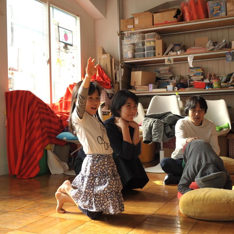 2014年12月6日(土)アトリエBAUHAUS 「まねる」in両国