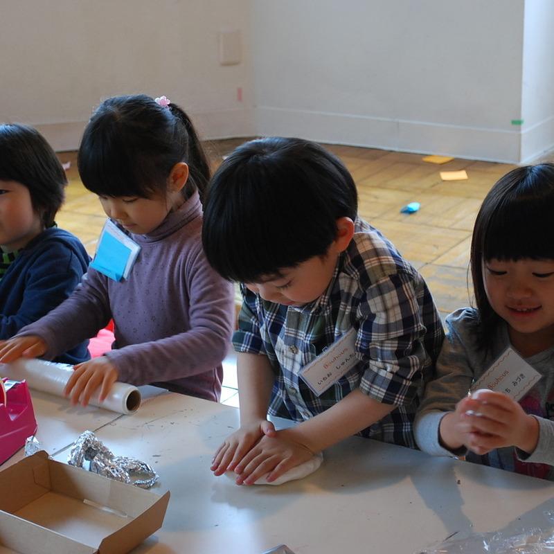 2014年4月5日(土)<br>アトリエBAUHAUS 「さわる」<br>in両国