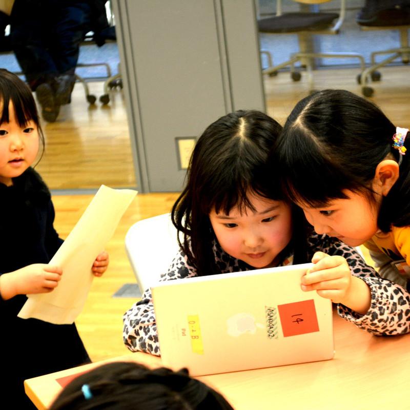 2016年1月24日(日)<br>「プログラミングで動くえほんをつくろう」(幼児クラス)in東大本郷