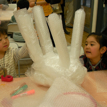 2009年5月17日(日)<br>「プチプチの空間」<br>(幼児クラス)in東大