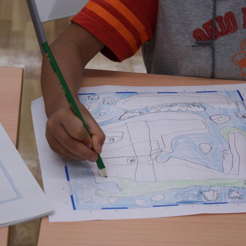 2009年7月19日(日)<br>「島地図と絵日記」<br>(小学生クラス)in東大