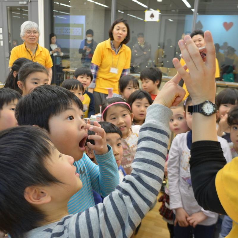 2016年3月20日(日)<br>「トランプのもようでつくる」<br>(幼児クラス)in東大本郷