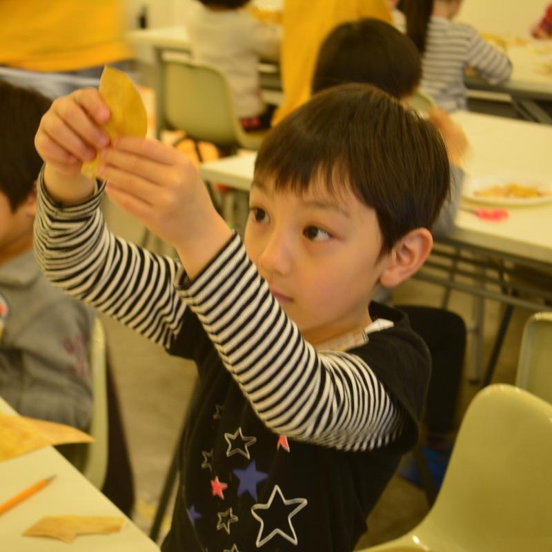 2016年4月24日(日)<br>「にせもの造形:初級編」<br>(幼児クラス)in代官山