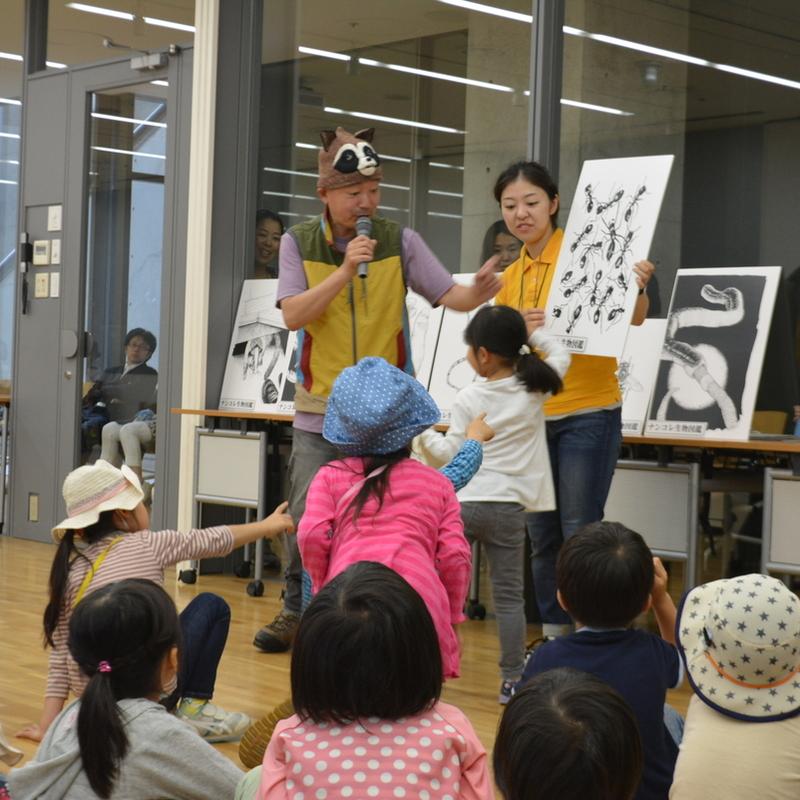 2016年5月28日(土)<br>「ナンコレ生物たんけんたい」<br>(幼児クラス)in東大本郷