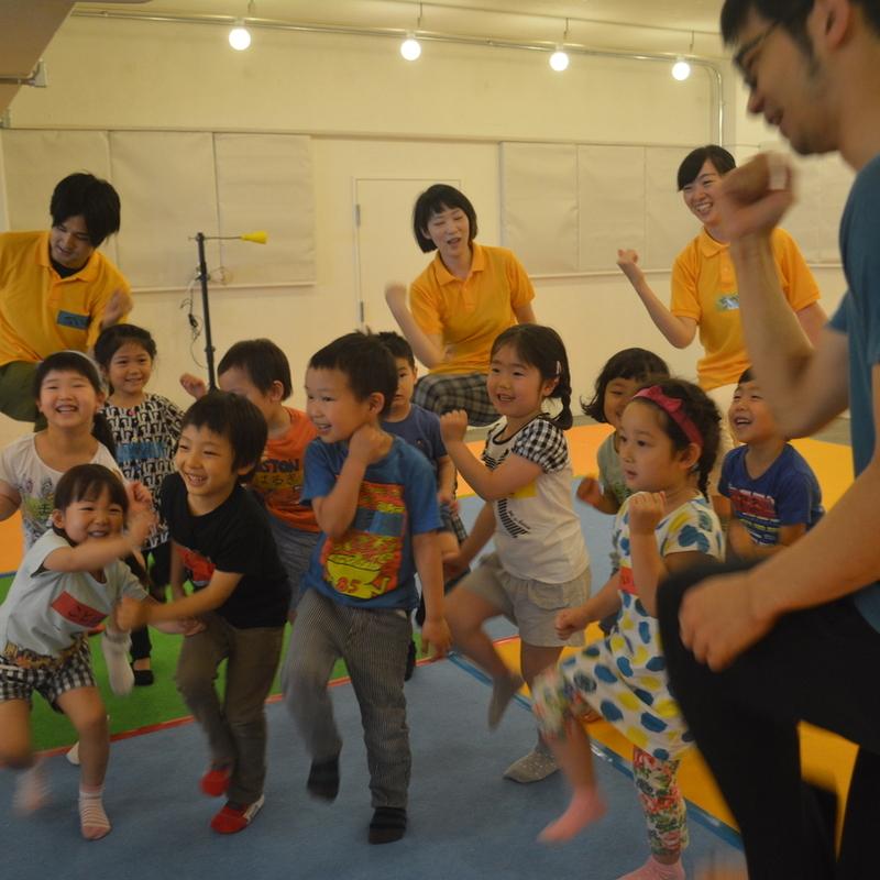 2016年6月26日(日)<br>「からだねんどで展覧会」<br>(幼児クラス)in代官山