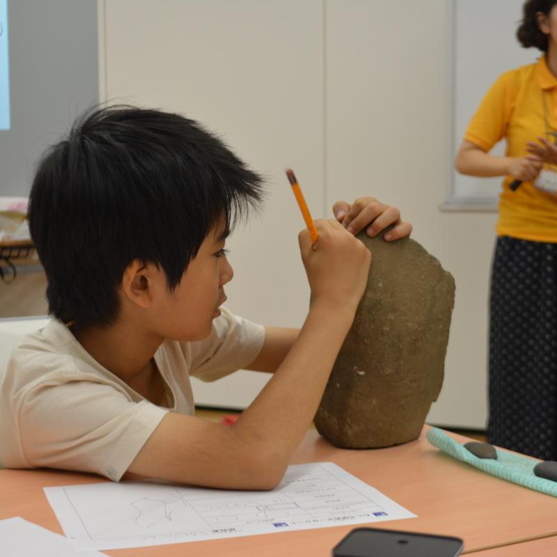 2016年7月17日(日)<br>「石ころラボで大研究!」<br>(小学生クラス)in東大本郷