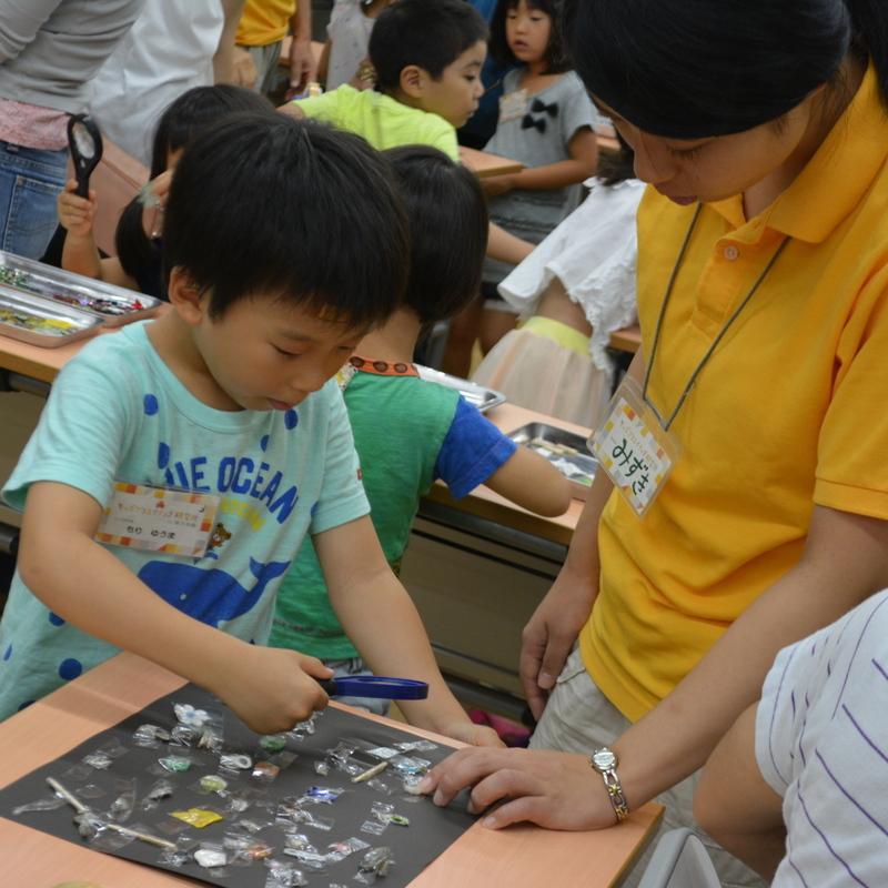 2016年8月21日(日)<br>「セロハンテープの水晶板」<br>(小学生クラス)in東大本郷