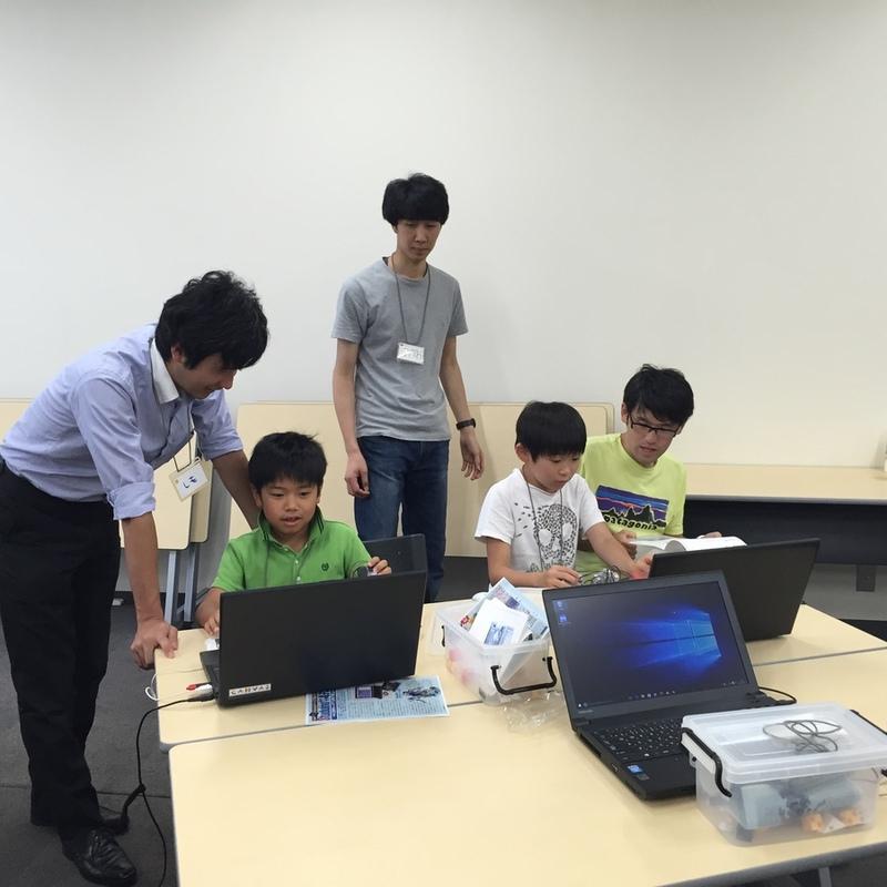 2016年7月25日(月)<br>サマーキャンプ2016プログラミング講座<br>ロボティスト キッズワークショップin日本科学未来館