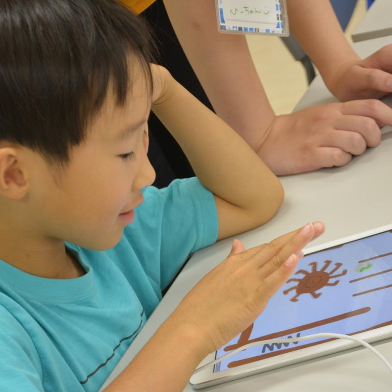 2016年8月27日(土)<br>サマーキャンプ2016プログラミング講座<br>自分だけのアプリをつくろう!<br>in日本工学院