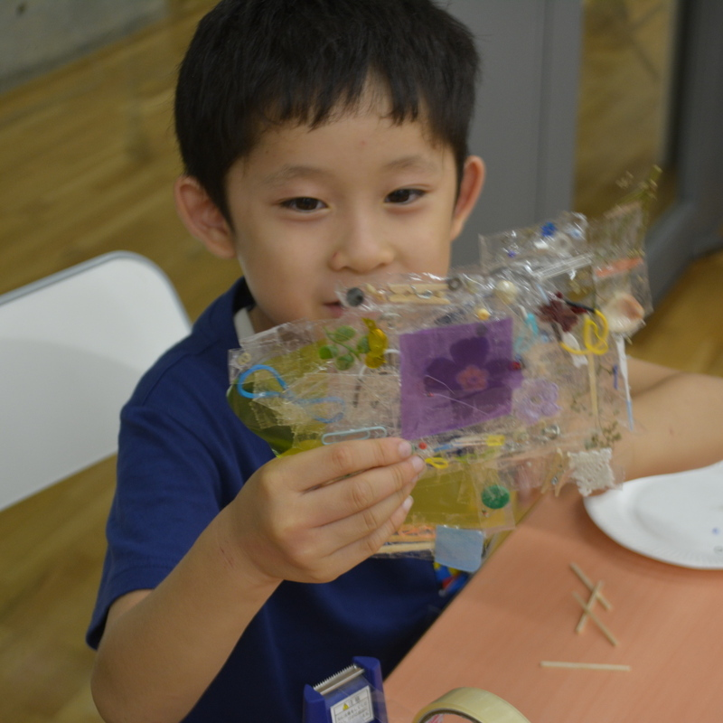 2016年9月3日(土)<br>「セロハンテープの水晶板」<br>(小学生クラス)in東大本郷