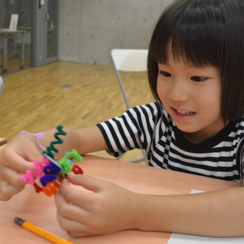 2016年9月18日(日)「ぶるぶる震えるモーターで新しいいきものをつくろう」(幼児クラス)in東大本郷