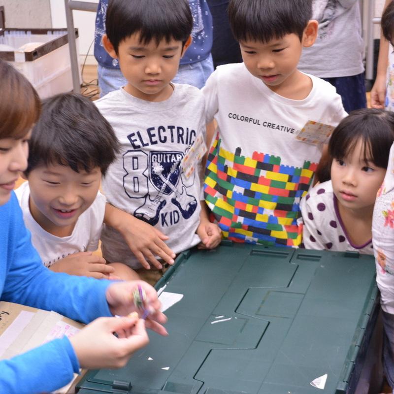 2016年9月22日(日)「ぶるぶる震えるモーターで新しいいきものをつくろう」(小学生クラス)in東大本郷