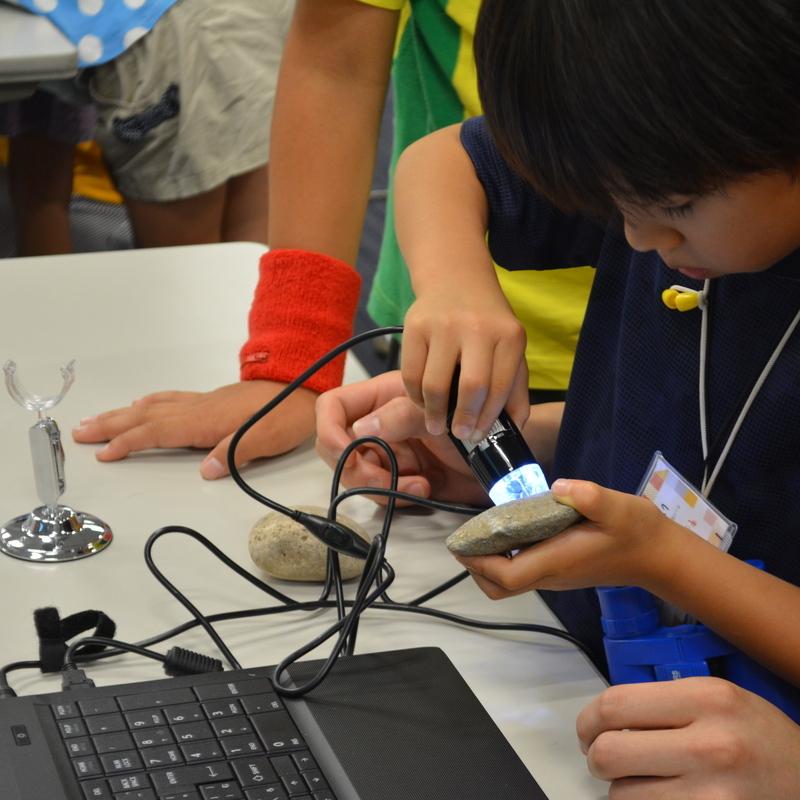 2016年9月10日(土)<br>「ミクロの世界」<br>(小学生クラス)inデジハリ