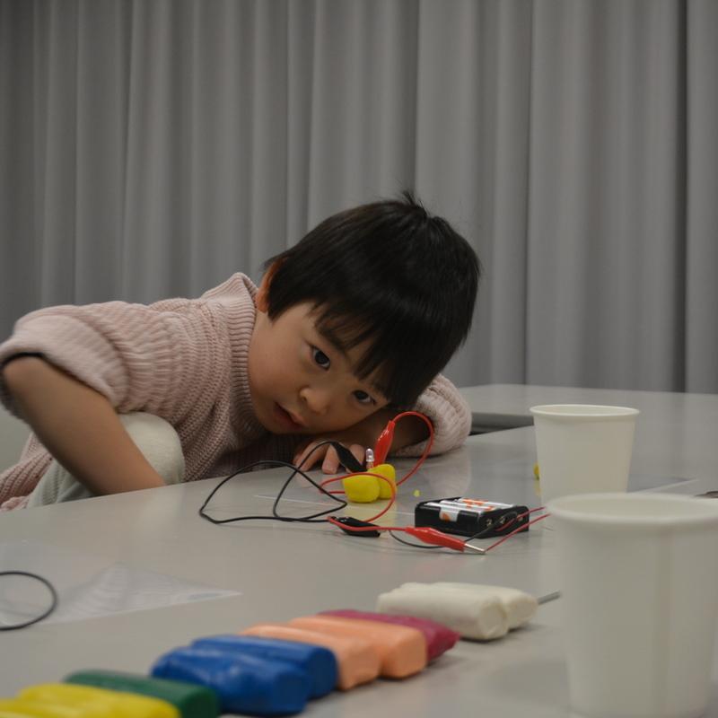 2016年12月11日(日)「発見!光るいきものえん」(幼児クラス)inデジハリ