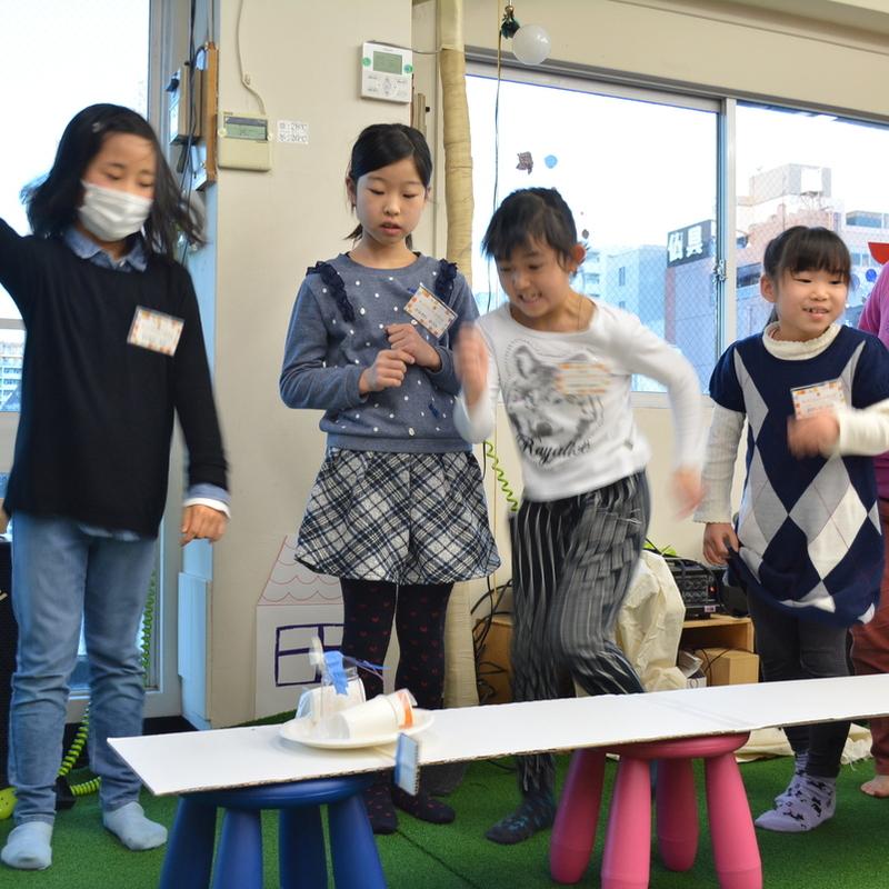 2017年2月12日(日)<br>「わたしもあなたも発明家!?あったらいいなをカタチにしよう」<br>(小学生クラス)in田原町