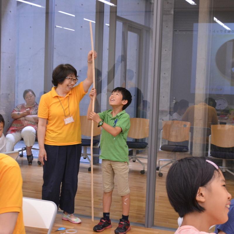 2017年7月16日(日)「ていねいにきっちり!板とテープでなにつくる?」(小学生クラス)in東大本郷