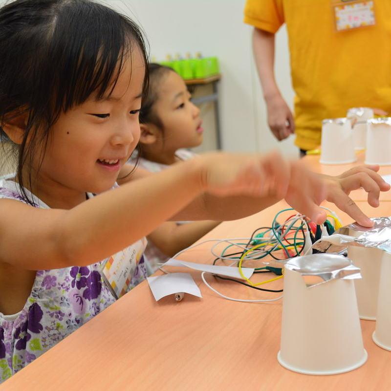2017年8月20日(日)<br>「研究所を楽器にしてみよう」<br>(幼児クラス)in東大本郷