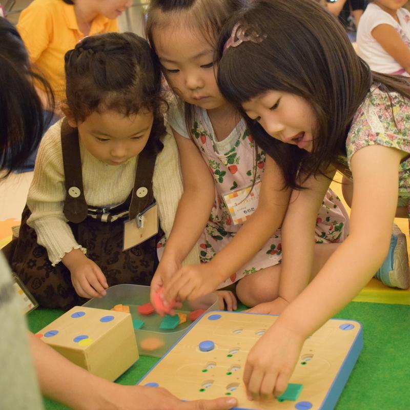 2017年9月24日(日)<br>「キュベットでプログラミング」<br>(幼児クラス)in代官山