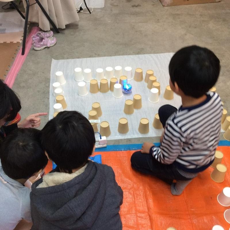 2017年11月12日(日)<br>「ロボット迷路」<br>(小学生クラス)in入谷