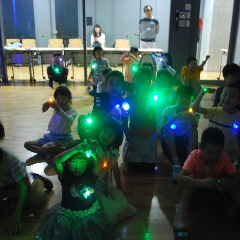 2017年9月17日(日)「光るオリジナルLEDをつくろう」(小学生クラス)in東大本郷