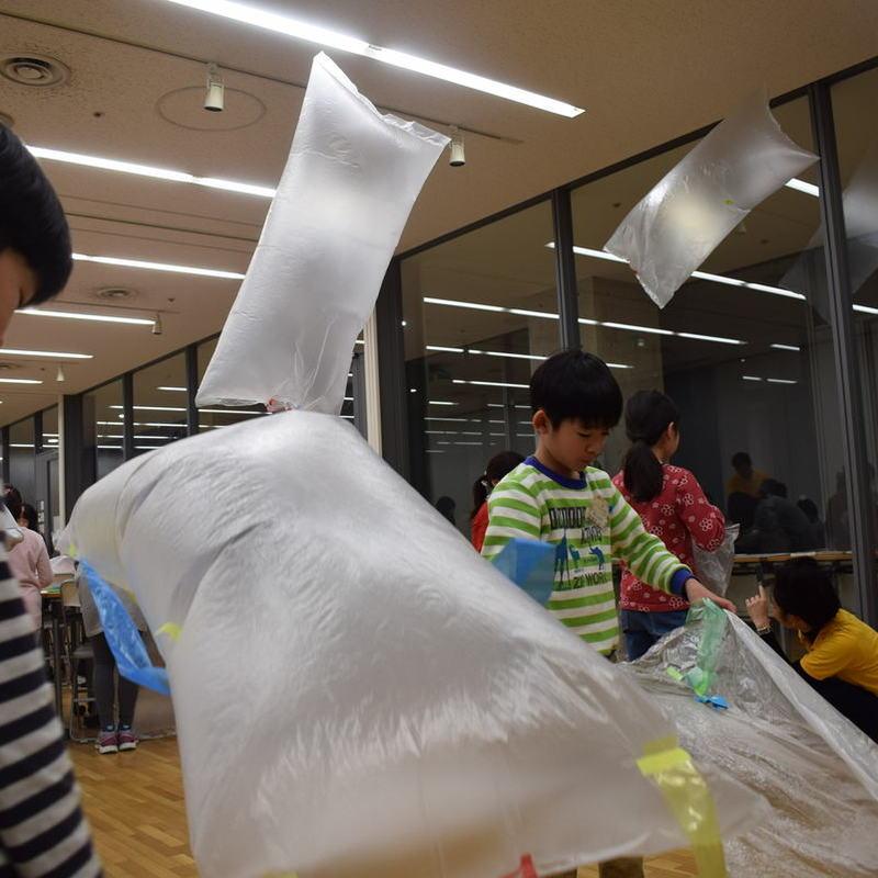2018年2月18日(日)「とんでとんでとんで~熱気球づくり~」(小学生クラス)in東大本郷