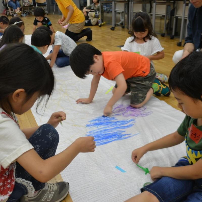 2017年6月25日(日)<br>「おえかきライブ<<エガオト>>」<br>(幼児クラス)in東大本郷