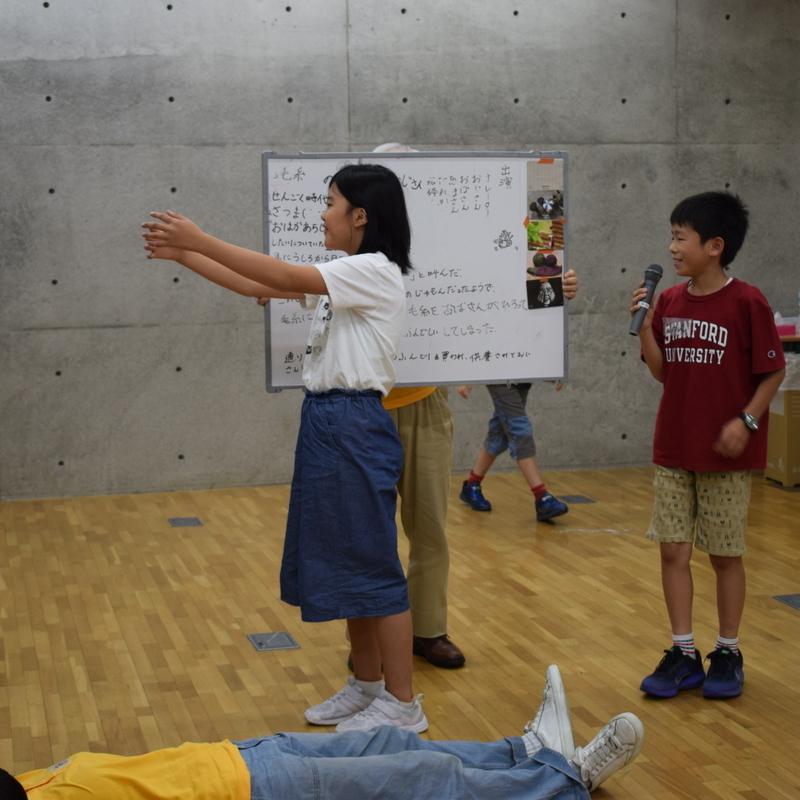 2018年6月17日(日)<br>「おとぎがたりマシーン<<うらしまギア>>」<br>(小学生クラス)in東大本郷
