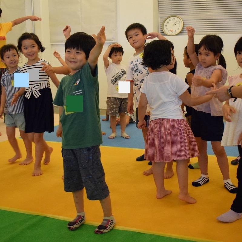 2018年8月26日(日)<br>「からだカタカタ アトカタリレー」<br>(幼児クラス)in代官山