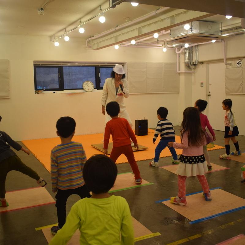 2018年10月28日(日)<br>「タップダンスをみて、つくって、たいけんしよう!」<br>(幼児クラス)in代官山