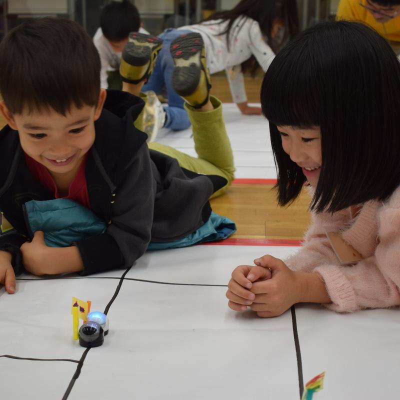 2018年11月25日(日)「ozobotの世界をつくろう」(幼児クラス)in東大本郷