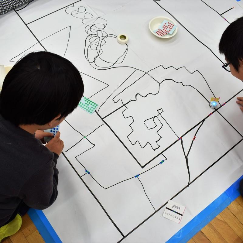 2018年11月25日(日)「ozobotの世界をつくろう」(小学生クラス)in東大本郷