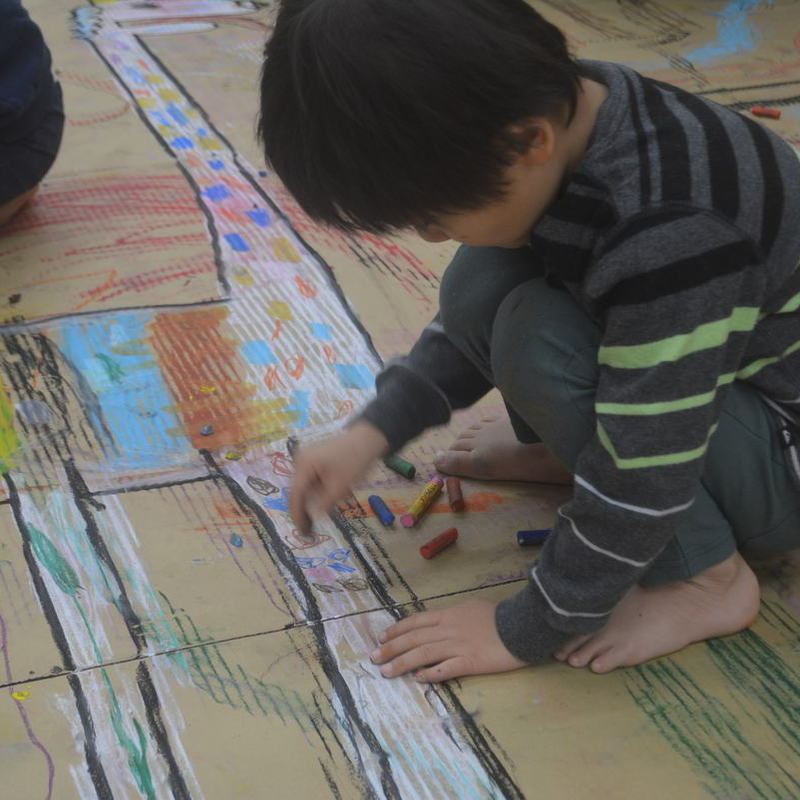 2018年12月16日(日)「HAND TALKでおえかき」(幼児クラス)in東大本郷