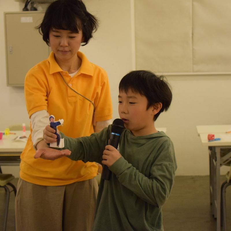 2019年2月24日(日)「はっけよい!きみの写真で紙相撲!」(小学生クラス)in代官山