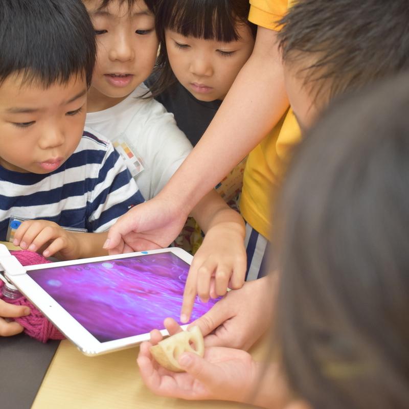 2019年8月17日(土)「ミクロの冒険者」(幼児クラス)in東大本郷