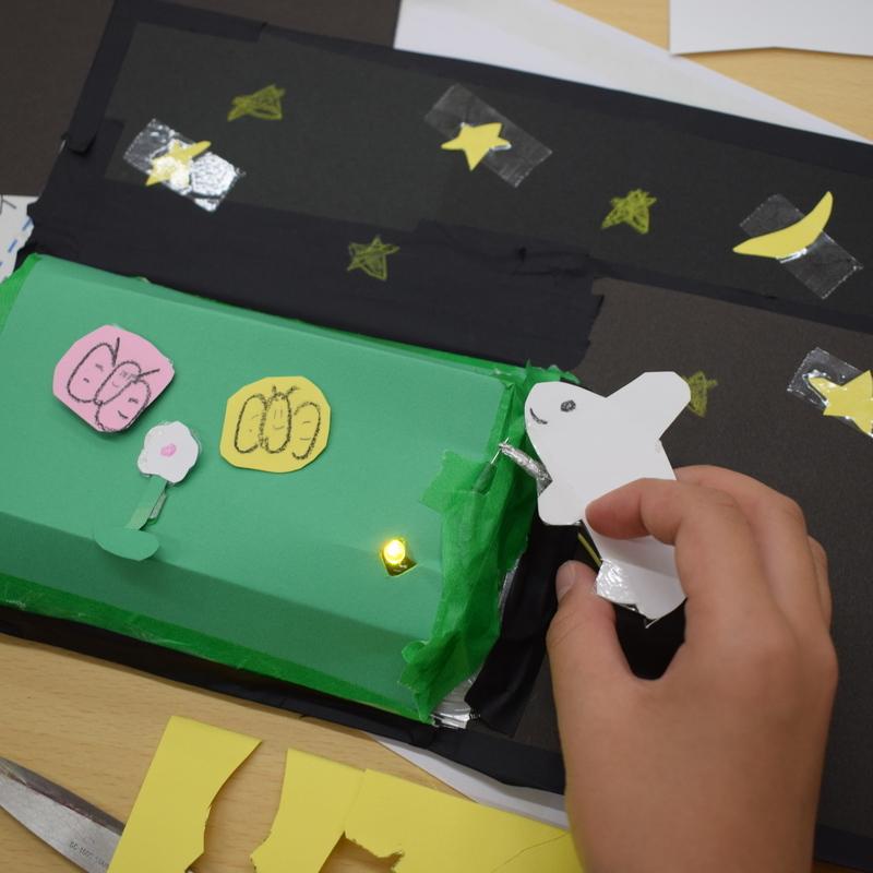 2019年11月17日(日)「オリジナルのスイッチをつくろう!」(小学生クラス)in東大本郷