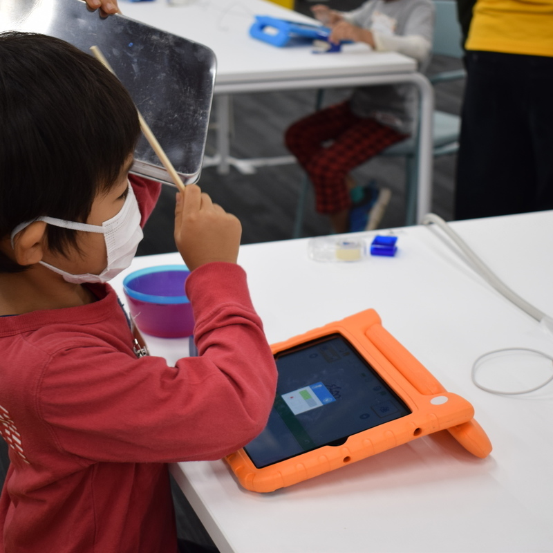 2020年11月14日(土)<br>「デジタルがっきをつくろう」(幼児クラス)in 竹芝