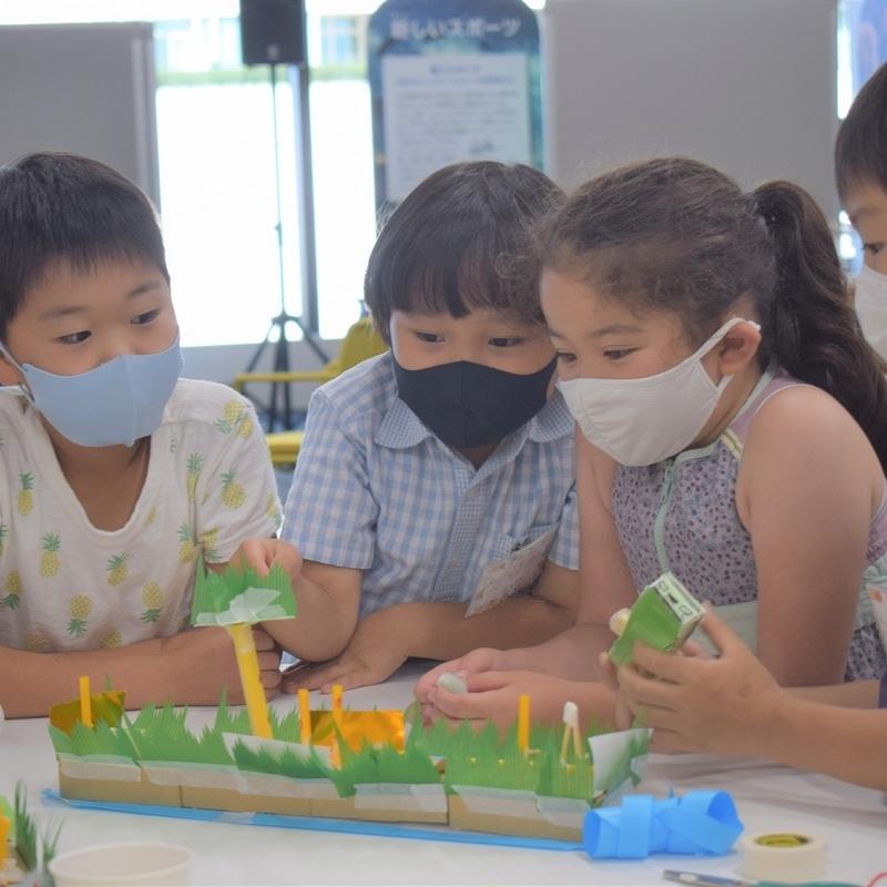 2021年7月18日(日)「小さい箱に何かいる!」(小学生クラス)in 竹芝