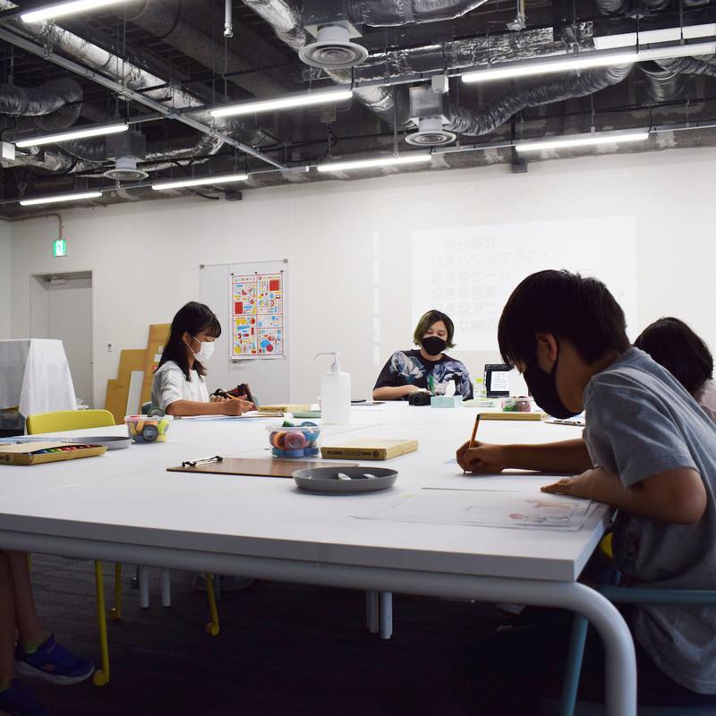 2021年8月23日(月)~24日(火)「サマーキャンプ2021 映画を見る、伝えるワークショップ」(小学生クラス)in 竹芝
